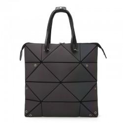 Fashionable geometric luminous bag - resizable