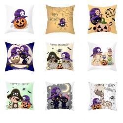 Halloween design - cushion cover - pillowcase 45 * 45 cm