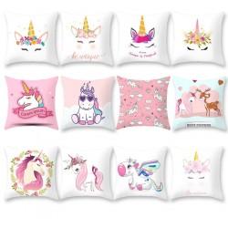 Cushion cover with unicorn - pillowcase 45 * 45cm