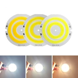round cob led light - double ring cold white led lamp - cob chip bulb for diy work house decor lights