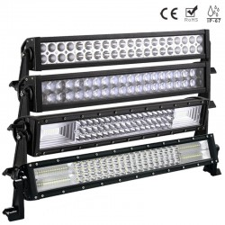 12V 120W LED Light Bar Spot - Flood & Combo 56cm