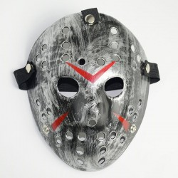 Horror Jason Voorhees / Samurai - Halloween / masquerade - mask - full face