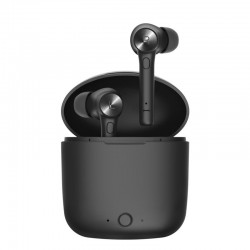 Bluetooth wireless earphones - black - lightweight
