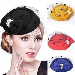 Women top hat - hair claws - veil