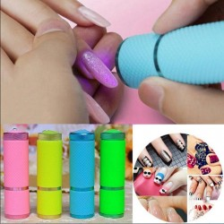 Mini nail dryer - torch - LED - UV - gel curing lamp