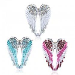 Ailes d'ange en cristal - broche