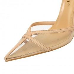 Air mesh - women - pumps - high heels - office - fashion