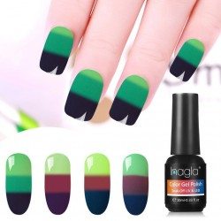 10ML triple-color temperature - gel polish - nail art - uv led