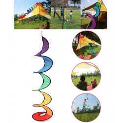 Rainbow wind spinner kite 100cm