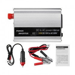 2000W - DC 12V to AC 220V - USB - Car Power Inverter