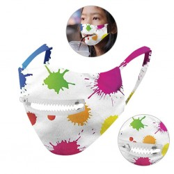 Washable - Protective - Mask - Unisex - Reusable - Zipper
