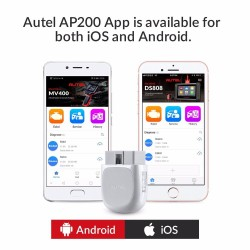 Autel AP200 - Bluetooth OBD2 scanner - code reader - car diagnostic tool