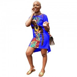 African Clothing - Dresses - Multiple Colors