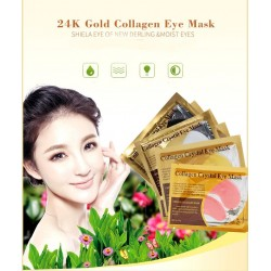 10Pcs - Crystal Collagen Eye Mask - Dark Circles