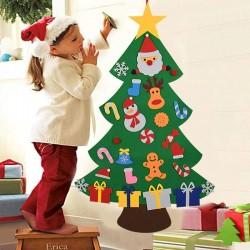 Felt Christmas tree - DIY Christmas decoration