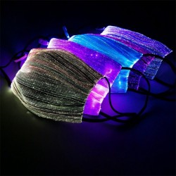 Led Flashing Mask - Luminous Light - Rave Mask