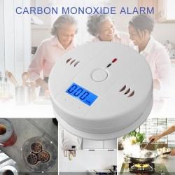 Carbon Monoxide Alarm - Sensor Warning Alarm Detector - LCD Indicator