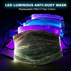 LED - Luminous - Anti-Dust - Mask - 1Pc