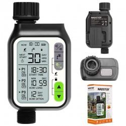 Rain sensor - irrigation timer - lcd screen