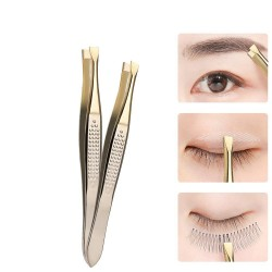 Eyebrow tweezer - stainless steel