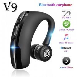 V9 Bluetooth earphone- hands free headset - earbud