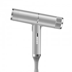 Professional hair dryer- ionic - grey - 220V