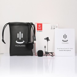 YC LM10 - lavalier microphone - Iphone - Ipad