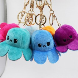 Reversible octopus - keychain