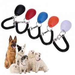 Dog trainer - adjustable keychain with sound - clicker - anti barking device