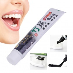 Bamboo charcoal toothpaste - teeth whitening -100g