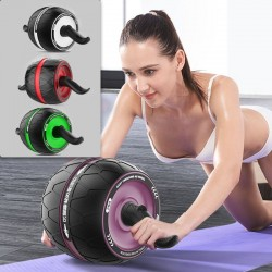 ABS roller - wheel - abdominal muscle trainer - knees mat