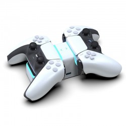PS5 Wireless Controller - USB-C - dual charger - fast charging - with LED indicator