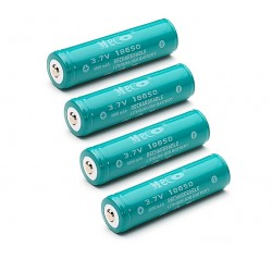 MECO 3.7v 4000mAh Rechargeable 18650 Li-ion Battery 4pcs *