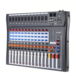 120S-USB - 12 channels - audio mixer - mixing console - 48V Phantom power