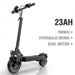 Electric scooter - 2000W - 70km/h - dual motor - hydraulic brake - foldable