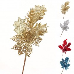 Glitter twig - a hanging Christmas tree ornament