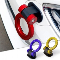 Universal car tow hook - ring shaped