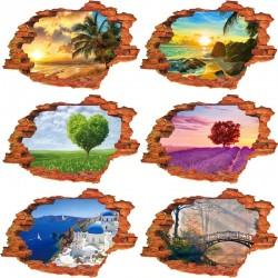 3D nature landscape - vinyl...