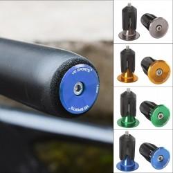 Bicycle handlebar end cap -...