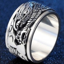 Ancient Chinese dragon ring...