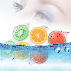 Gel eye mask - compress - fatigue / eye bags removal - fruits shape