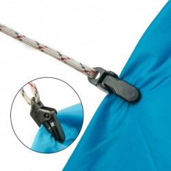 Tent pull point clip - alligator buckle hook - camping tool - 10 pieces