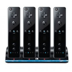 Wii Controller charger with 4 batteries 2800 mAh