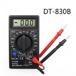 DT-830B - LCD digital multimeter - 1999 counts - AC / DC / Ohm / voltage tester - 750 - 1000V