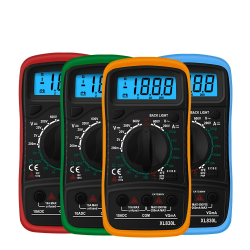 XL830L - digital multimeter - LCD - with backlight - AC / DC / Ohm tester