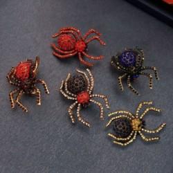 Crystal spider - elegant brooch - pin