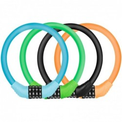 Bicycle / motorcycle lock - ring with 4 digit passcode - anti-theft