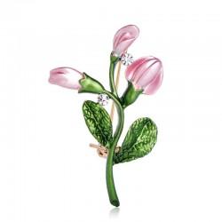 Exquisite pink tulip -...