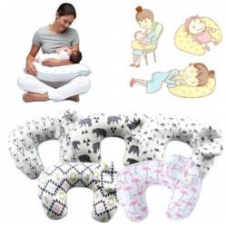 Breastfeeding pillow - with baby head protection cushion - U-shaped