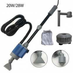 Electric aquarium water change pump - cleaning tool - filter - 20W / 28W